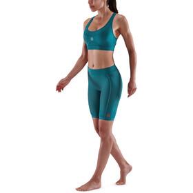Skins Series-5 Half Tights Women teal